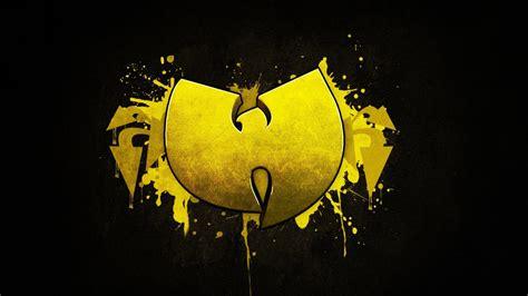 wu tang clan yellow black hardcore hip hop  logo