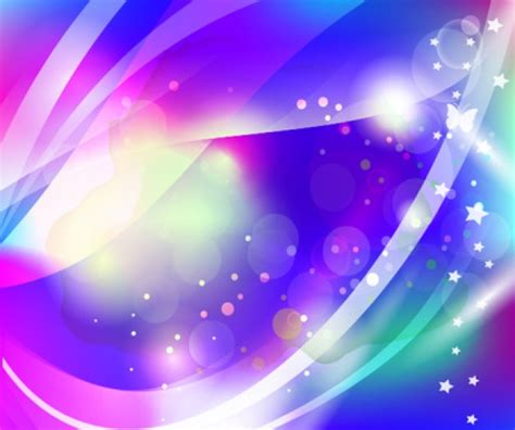 Sparkling Image Sparkling Background With Wavy Shapes Vector Free