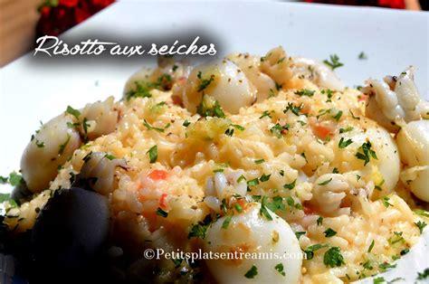 risotto aux seiches petits plats entre amis