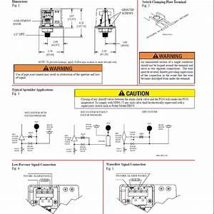 Ps10 Tyco Potter Pressure Type Waterflow Alarm  Supervisory