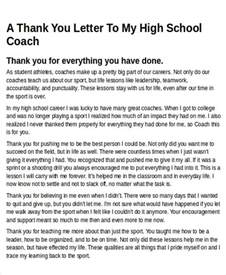 thank you letter sle coach 28 images coach gifts on