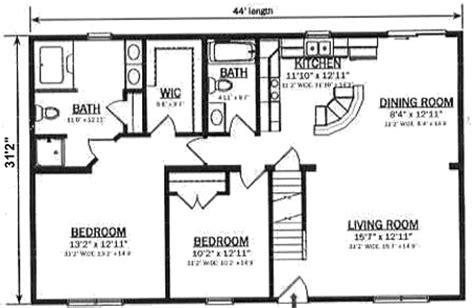 hallmark homes cape  floorplan