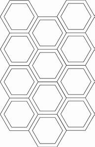 Hexagon cutting template flickr photo sharing for Hexagon templates for quilting free