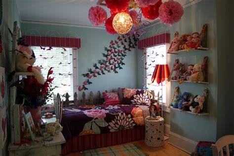 Garden Room Decoration by Butterfly Themed Bedroom In Budget Interior Designing