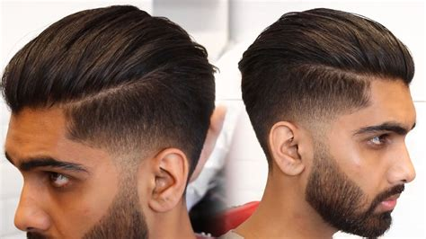 Hairstyles For Back And Sides by Mens Modern Slick Back Hairstyle Haircut Tutorial 2019