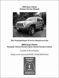 The Best 2004 Jeep Liberty Factory Service Manual