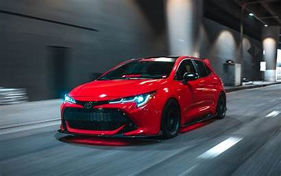 Corolla Toyota Hatchback Super Street Tuning Cars