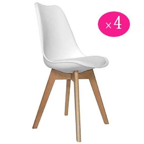 chaise sans pied lot de 4 retro chaise de salle à manger sans accoudoirs