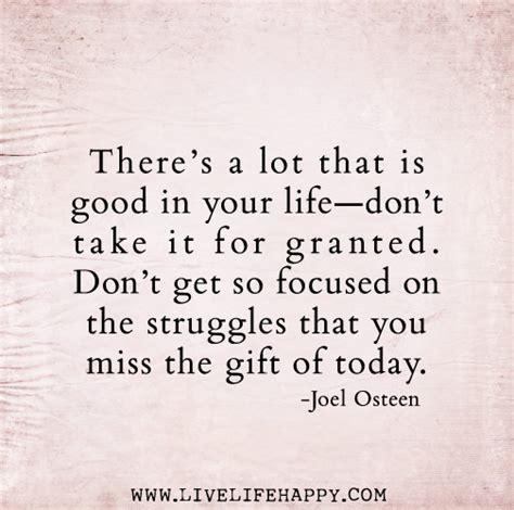Dont Take It For Granted Quotes