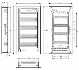 Dimension Tableau Electrique : ref eris tableaux et coffrets tableaux ip30 ~ Melissatoandfro.com Idées de Décoration