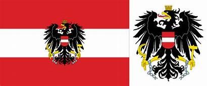 Flag Austria Eagle Hungary National Striped Government