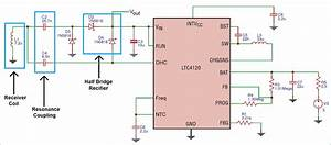 Wireless Charger Receiver Circuit Diagram