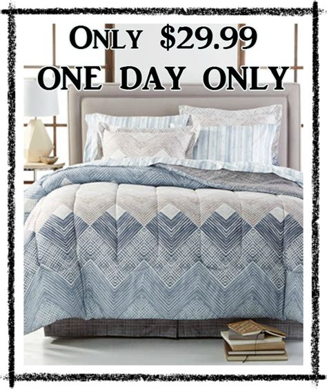 macy s 8 piece bedding sets all sizes only 29 99