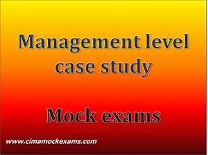 Management Level Case Study  Mcs  Practice Mock Exams