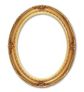 Antique Oval Gold Frame