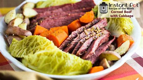 instant pot corned beef  cabbage   feed  loon