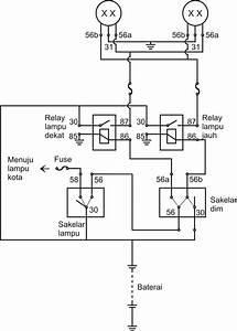 Wiring Diagram Sistem Penerangan Ac