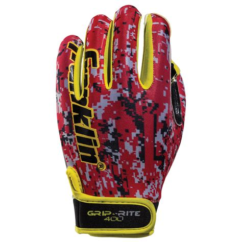 franklin grip rite  receiver gloves youth american