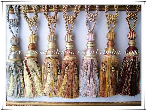 Large Curtain Tassel Tiebacks