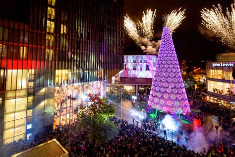 christmas is officially open the liverpool one lights