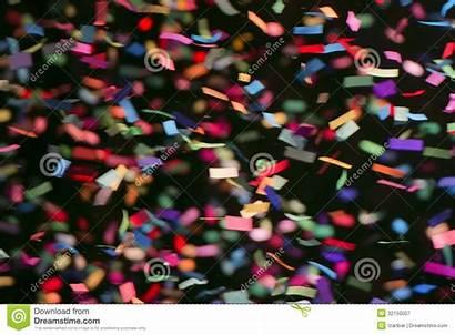 Streamers Colorful Fiamme Variopinte Nero Fondo Kleurrijke