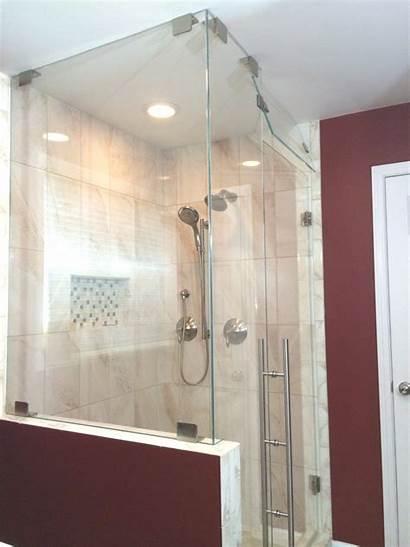 Shower Transom Custom Corner Showers Frameless Degree
