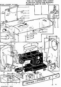 Kenmore Model 15817600 Mechanical Sewing Machines Genuine