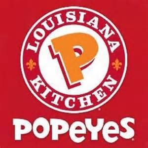 Popeyes Menu: Restaurant Serving Chicken Waffle Tenders ...