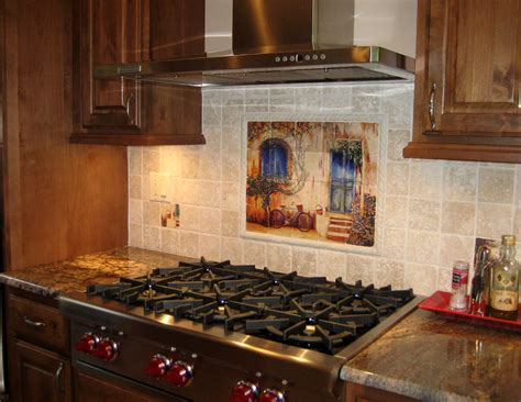 tile wall murals and backsplashes of and