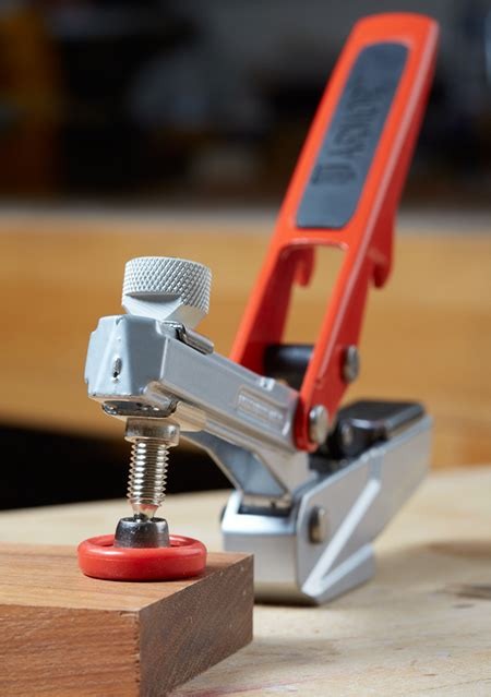 armor tool launches  bench dog clamp  woodworker