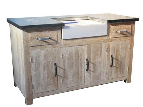 meuble cuisine evier meuble evier meubles cuisine pin massif pas cher la remise