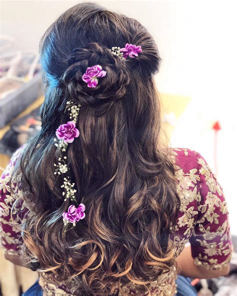 open hairstyle  bridal hairdo    ditch