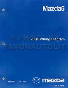 2008 Mazda 5 Wiring Diagram Original