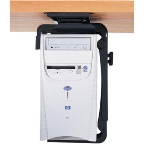 humanscale desk cpu holder humanscale cpu555 desk mount cpu holder