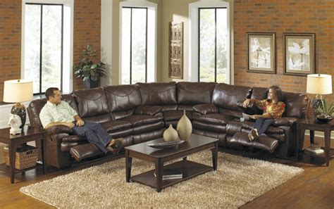Sectional Sofas With Recliners And Cup Holders by Furniture Large Leather Sectional Recliner Couch In Dark