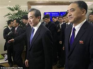 Kim Jong-un meets China's foreign minister in North Korea ...