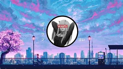 Waifu Franxx Darling Desktop
