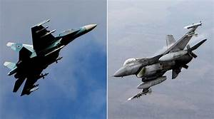 Russian Su-27 warns off NATO F-16 trying to approach ...