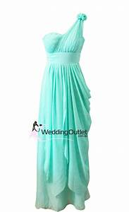 Aqua Greek Style Bridesmaid or Evening Dress Style #C101 ...