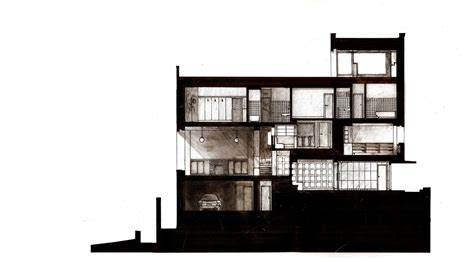 casa muller loos section villa m 252 ller by adolf loos plans and other