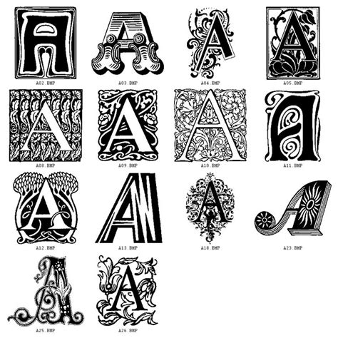 1000+ Images About Decorative Letters On Pinterest The