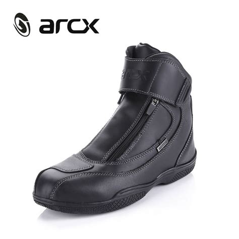 best street bike boots best arcx motorcycle boots genuine cow leather waterproof