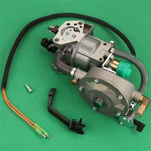Dual Fuel Generator Gasoline Carburetor Carb For Honda