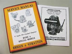 Briggs Stratton Fi Service Repair Owner Operator Operating