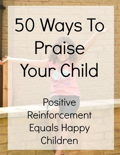 50 ways to praise your child mothers and children 408 | 00095ea101ea0f61c5ede0031247004e