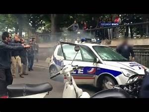 Enchere Voiture Ile De France : document bfmtv les images des fumig nes lanc s dans la voiture de police br l e paris youtube ~ Medecine-chirurgie-esthetiques.com Avis de Voitures