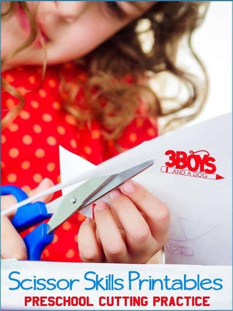 preschool cutting practice free printable worksheets 3 567 | Scissor Skills Printables
