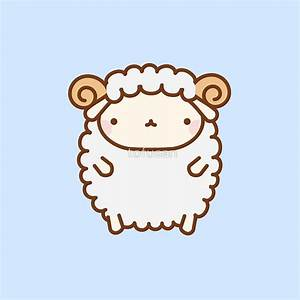 """Cute Sheep"" Greeting Cards by tofusan 