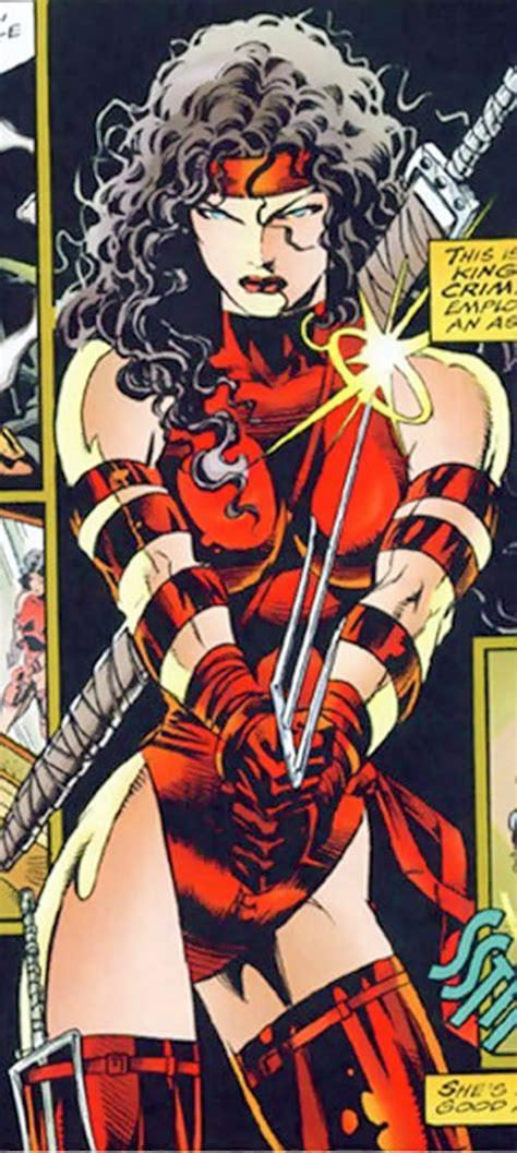 elektra marvel comics daredevil character  hand