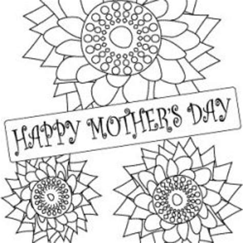 mothers day coloring pages hubpages